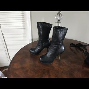 Zigi soho black leather boots